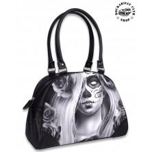 Dámská taška kabelka retro rockabilly pin-up Liquor Brand Love