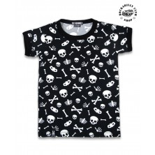 Dětské tričko Six Bunnies Skulls
