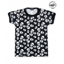 Dětské tričko Six Bunnies Polka Skulls