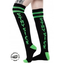 Nadkolenky Sourpuss Clothing Stay Sick Knee Socks