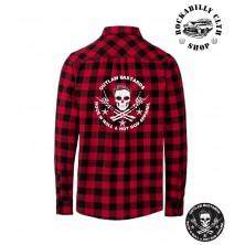 Pánská košile Outlaw Bastards Skull