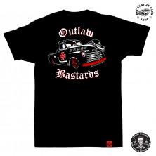 Tričko pánské Outlaw Bastards Demon