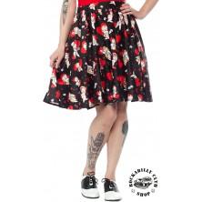 Dámská sukně Sourpuss Clothing Kewpids Sweets Skirt