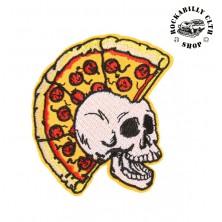 Nášivka Rocka Pizza Punx Skull