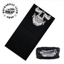 Nákrčník Rocka Neck Tube Mouth Skull