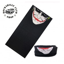 Nákrčník Rocka Neck Tube Mouth Skull Joker