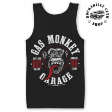 Pánské tílko Gas Monkey Garage Round Seal Tank Top