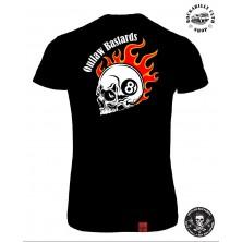 Tričko Dámské Outlaw Bastards 8ball Skull