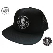 Kšiltovka Outlaw Bastards trucker Skull Blk