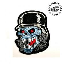 Nášivka Rocka Iron Skull