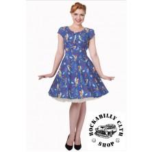 Dámské šaty Rockabilly Retro Pin Up Banned Made Of Wonder Dress