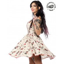 Dámské šaty Rockabilly Retro Pin Up Sourpuss Clothing Hula Gals Sweets Dress