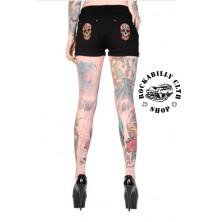Dámské kraťasy Banned Candy Skull Shorts
