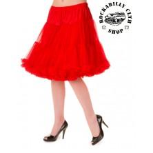 Spodnička dámská retro rockabilly pin-up Banned Walkabout Petticoat Red