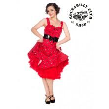 Dámské šaty Rockabilly Retro Pin Up Banned Future Halter Dress
