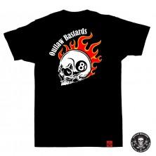 Dětské tričko Outlaw Bastards 8ball Skull