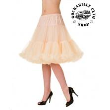 Spodnička dámská retro rockabilly pin-up Banned Walkabout Petticoat Champagne