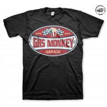 Pánské tričko Gas Monkey Garage Since 2004 Label