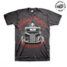 Tričko pánské American Hotrods Johnny Habits Hot rod