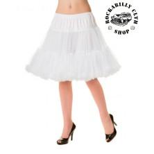 Spodnička dámská retro rockabilly pin-up Banned Walkabout Petticoat White