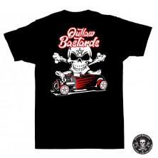 Dětské tričko Outlaw Bastards Hot Rod Pentagram