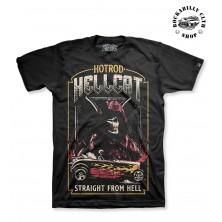 Pánské Tričko Hotrod Hellcat Straight From Hell