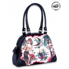 Dámská taška kabelka retro rockabilly pin-up Liquor Brand Aloha