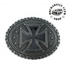Přezka na pásek Rocka Chain Cross