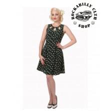 Dámské šaty Rockabilly Retro Pin Up Banned Tell The Story Dress
