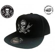 Kšiltovka Outlaw Bastards Snapback Skull Blk