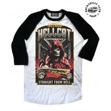 Pánské Tričko Hotrod Hellcat Raglan Straight From Hell