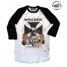 Pánské Tričko Hotrod Hellcat Raglan Motor Company
