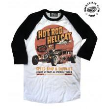 Pánské Tričko Hotrod Hellcat Raglan In God We Trust