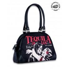 Dámská taška kabelka retro rockabilly pin-up Liquor Brand Tequila