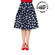 Dámská sukně Banned Summer Swan Pleated Skirt