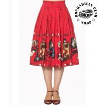 Dámská sukně Banned Vanity Swing Skirt