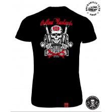 Tričko Dámské Outlaw Bastards Skull Trucker