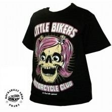 Dětské tričko Little Bikers Rose No Deal