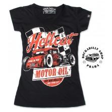 Dámské Tričko Hotrod Hellcat Motor Oil