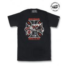 Pánské tričko Hotrod Hellcat Iron Cross FTW