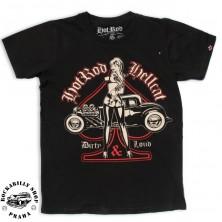 Pánské tričko Hotrod Hellcat Dirty And Loud