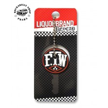 Přívěsek /obal na klíče Liquor Brand F.T.W.