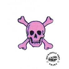 Nášivka Liquor Brand Skull Pink