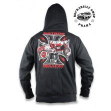 Pánská mikina Hotrod Hellcat Iron Cross F.T.W.