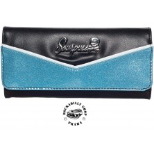 Peněženka Sourpuss Clothing Monroe Wallet Blue/BLK
