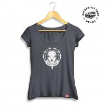 Dámské tričko Black Raven Raven Skull