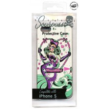 Kryt telefonu Sourpuss Sea Kitten iPhone 5 Case